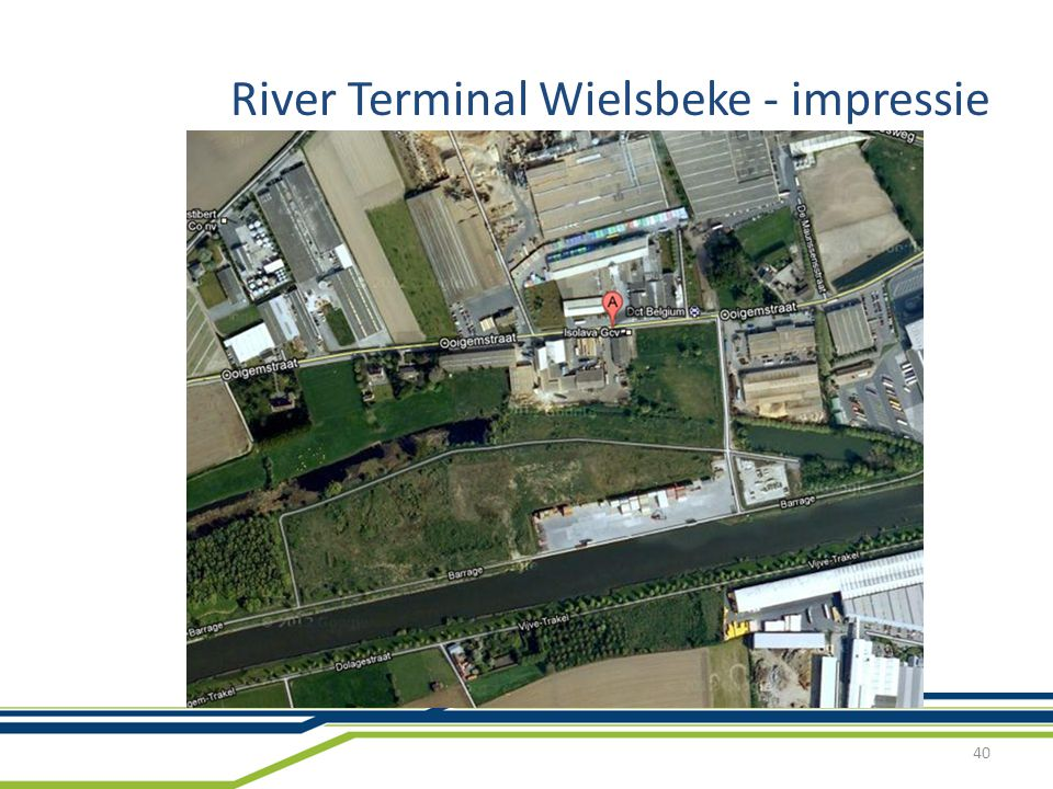 River Terminal Wielsbeke - impressie