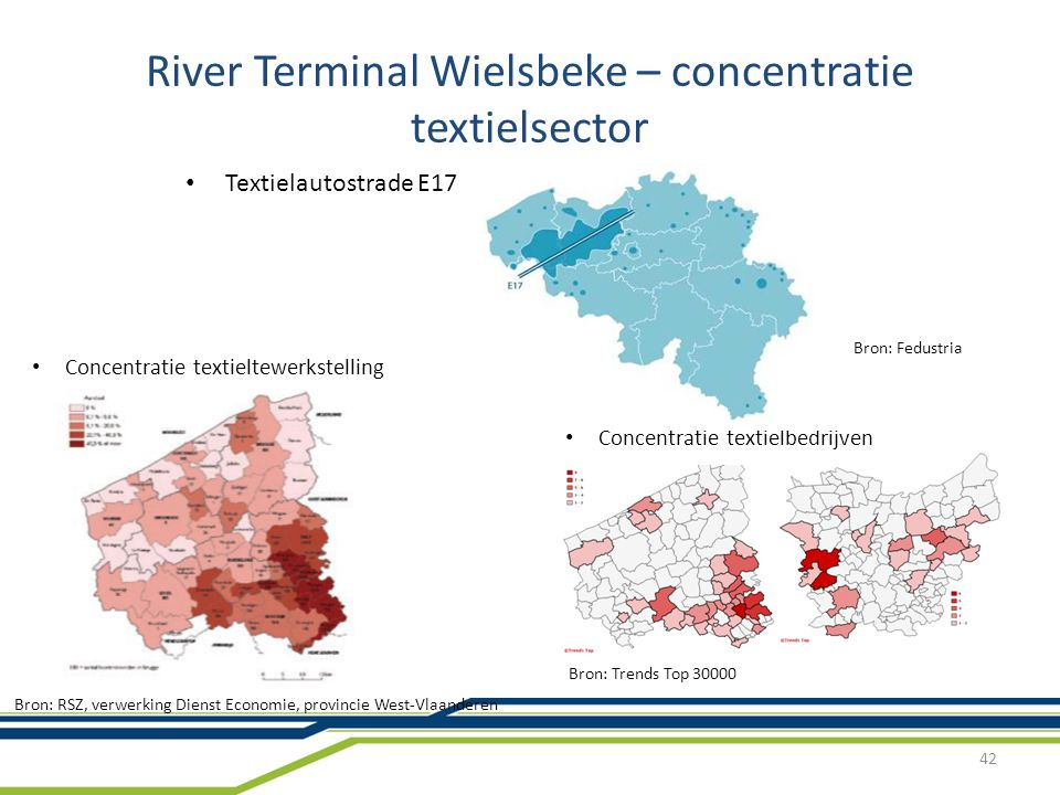 River Terminal Wielsbeke – concentratie textielsector