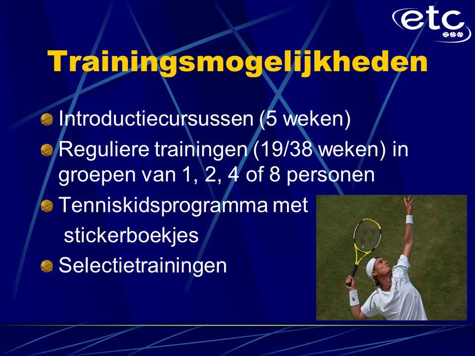 Trainingsmogelijkheden