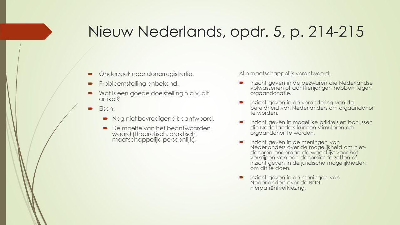 Nieuw Nederlands, opdr. 5, p. 214-215