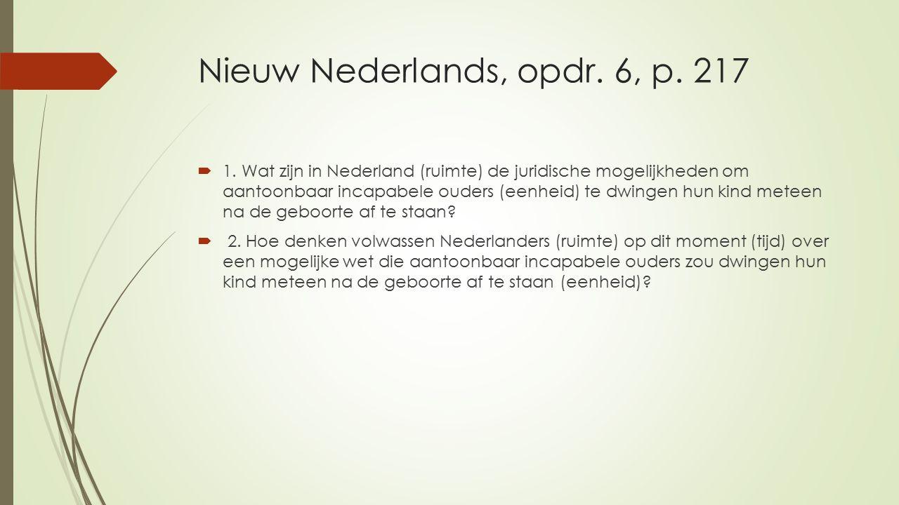 Nieuw Nederlands, opdr. 6, p. 217