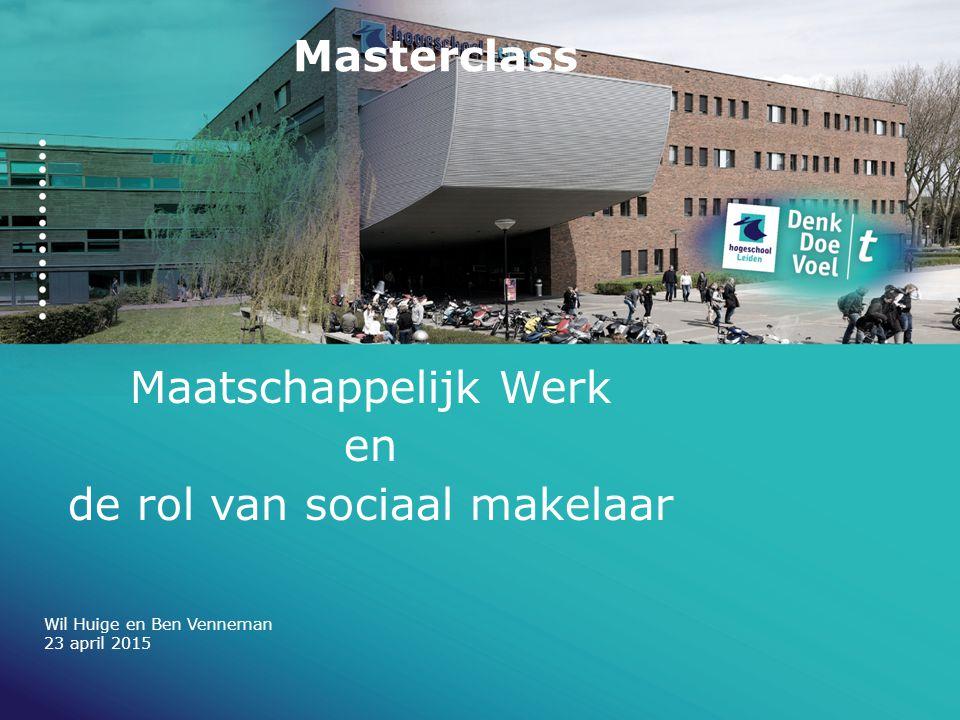 Maatschappelijk Werk en de rol van sociaal makelaar