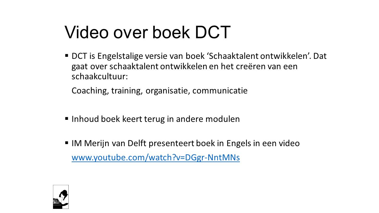 Video over boek DCT