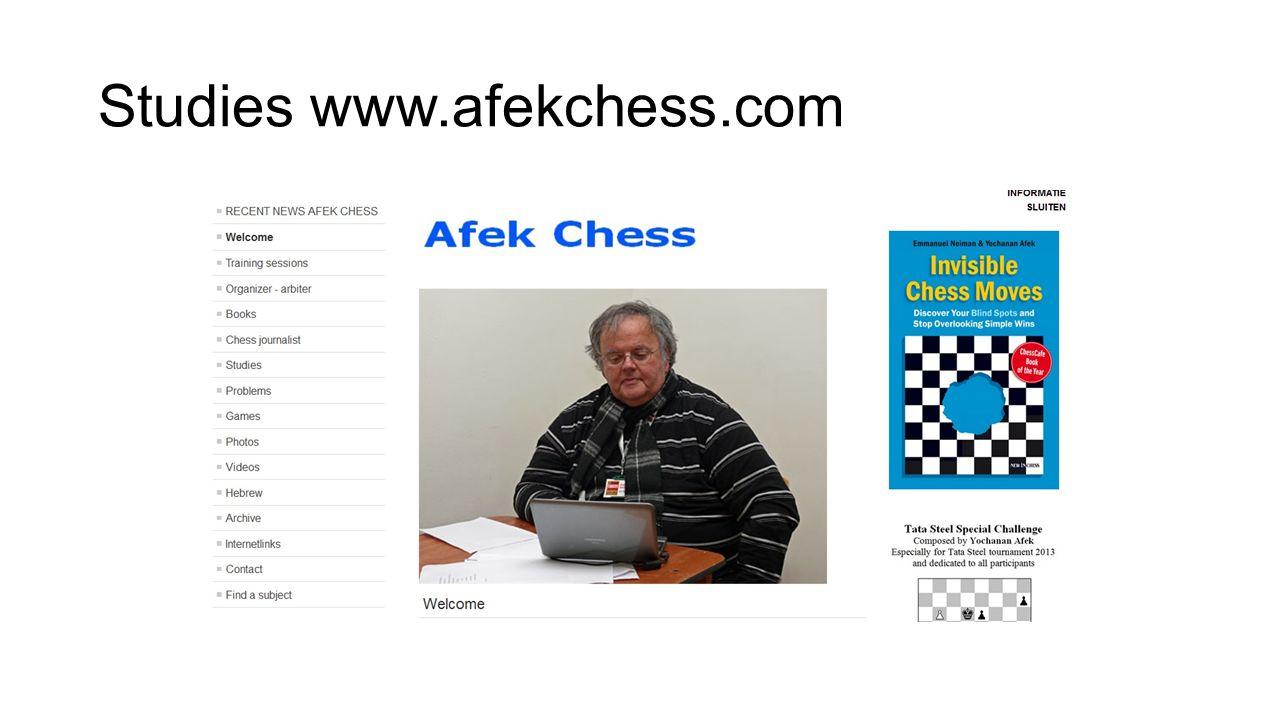Studies www.afekchess.com