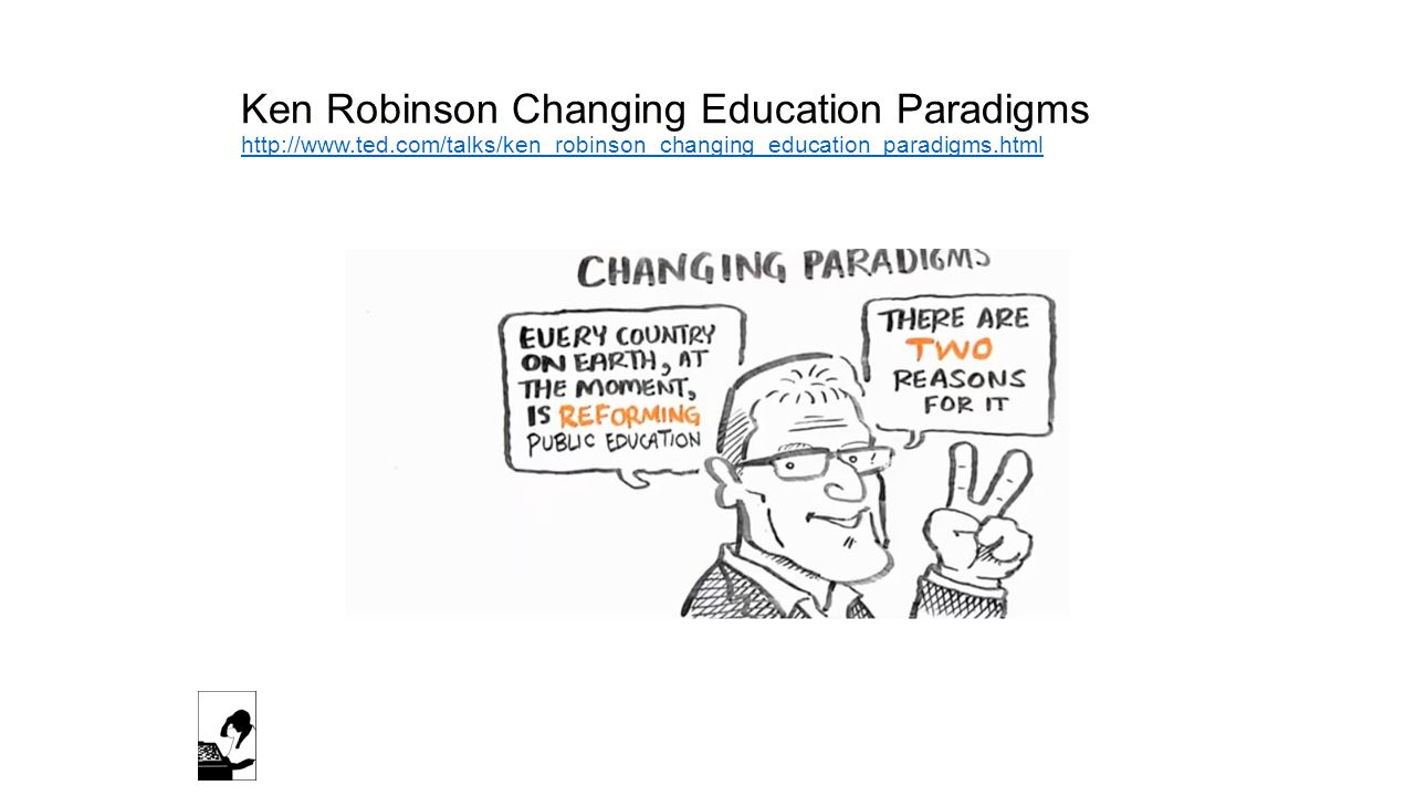 Ken Robinson Changing Education Paradigms http://www. ted