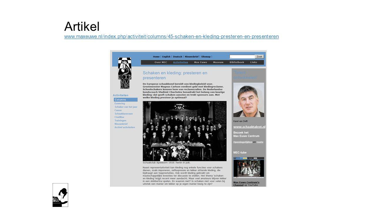 Artikel www. maxeuwe. nl/index