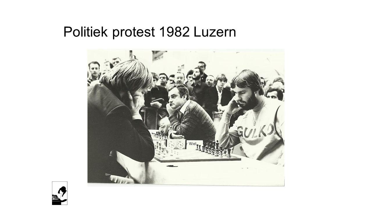 Politiek protest 1982 Luzern