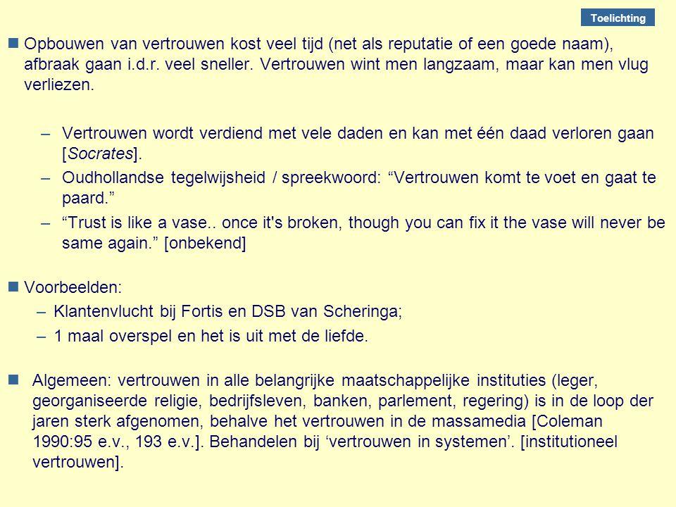 Klantenvlucht bij Fortis en DSB van Scheringa;