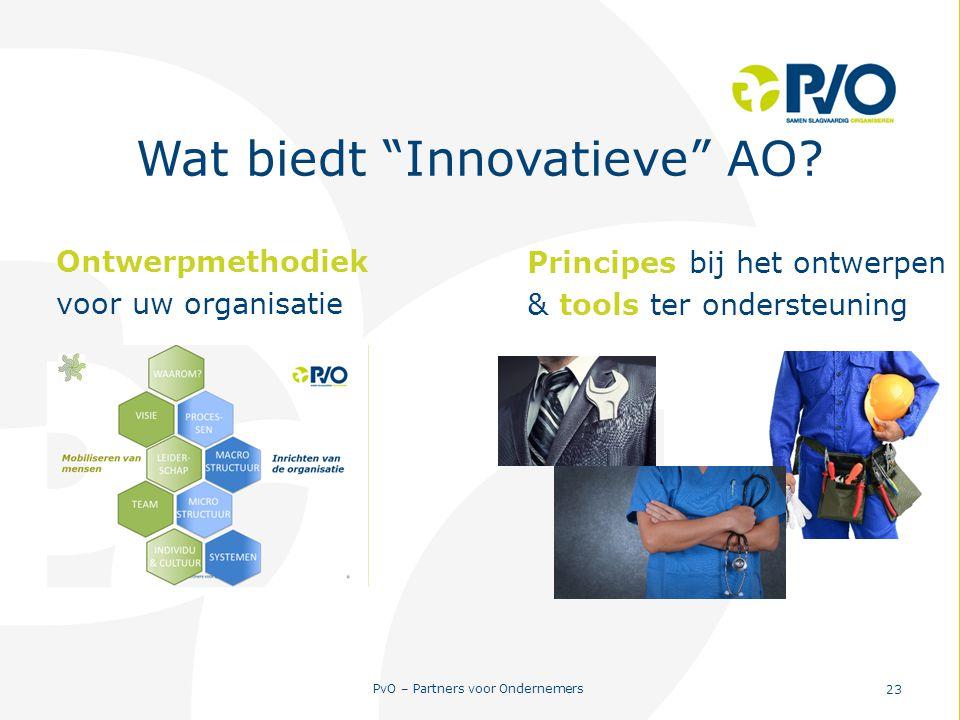 Wat biedt Innovatieve AO