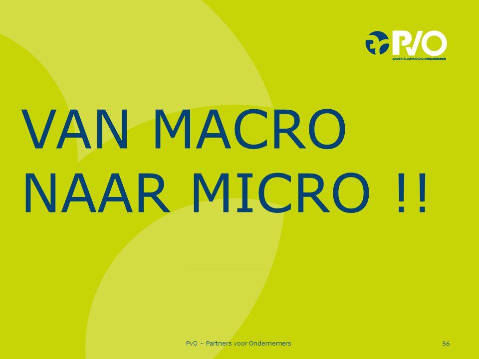 VAN MACRO NAAR MICRO !!
