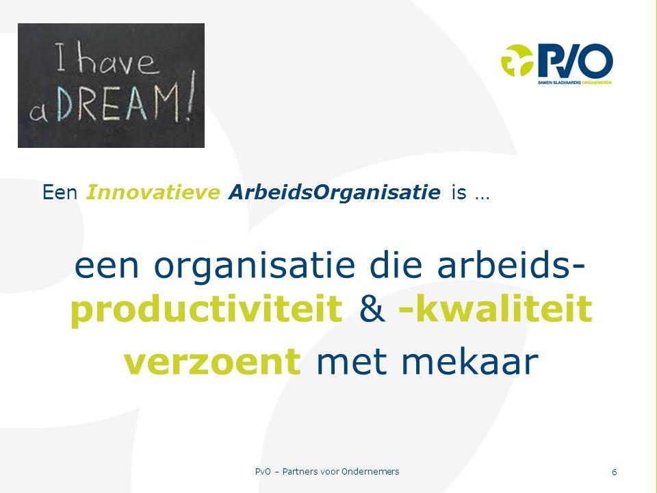 een organisatie die arbeids-productiviteit & -kwaliteit