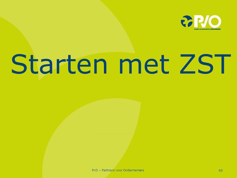 Starten met ZST