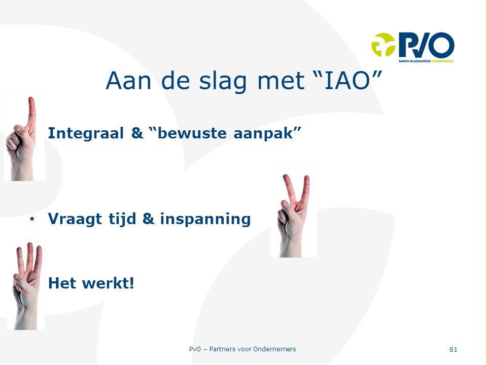 Aan de slag met IAO Integraal & bewuste aanpak
