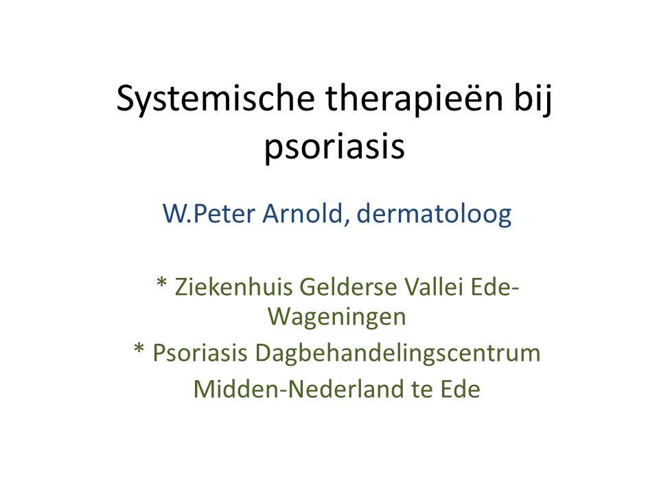 Systemische therapieën bij psoriasis