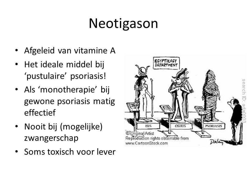 Neotigason Afgeleid van vitamine A