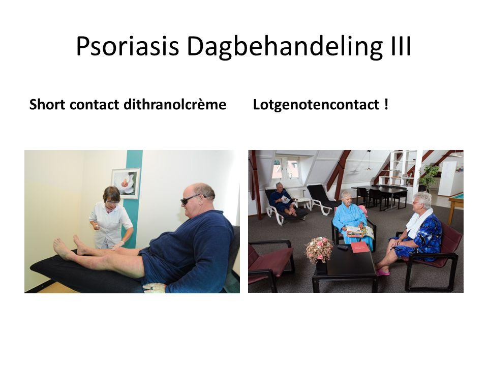 Psoriasis Dagbehandeling III