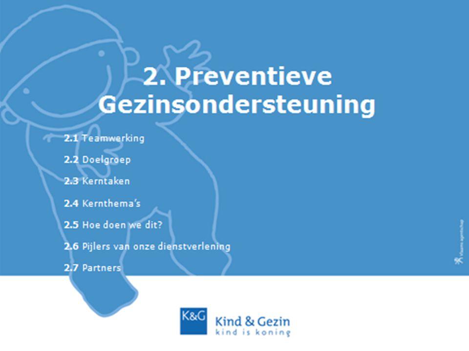 2. Preventieve Gezinsondersteuning