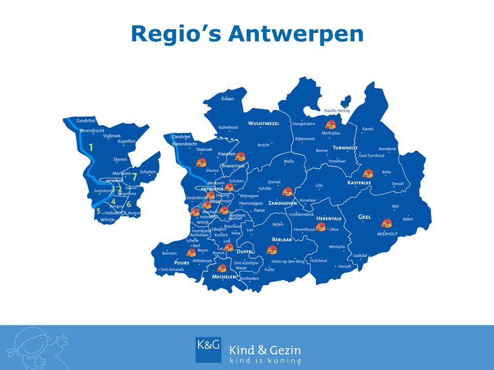 Regio's Antwerpen