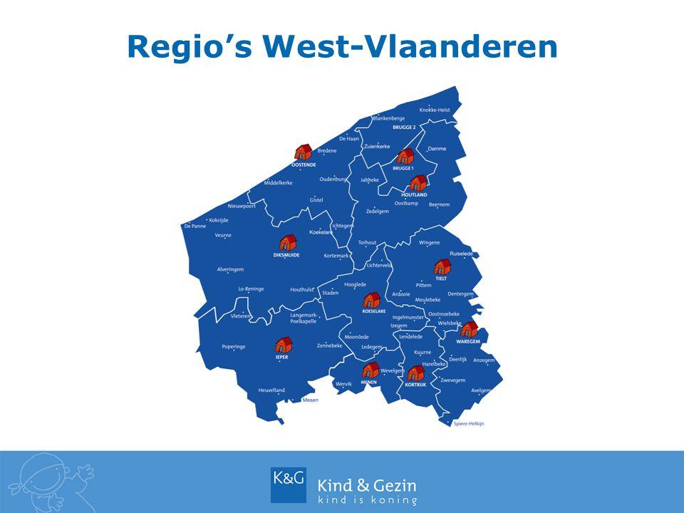 Regio's West-Vlaanderen