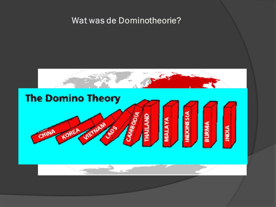 Wat was de Dominotheorie