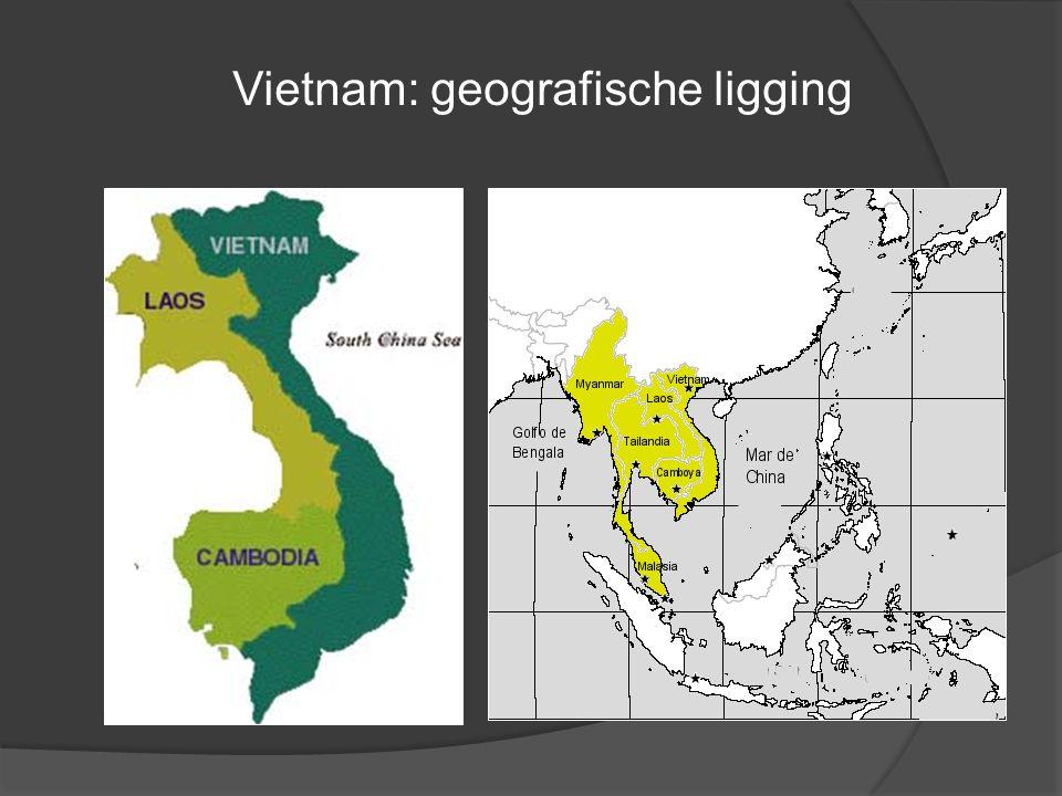 Vietnam: geografische ligging