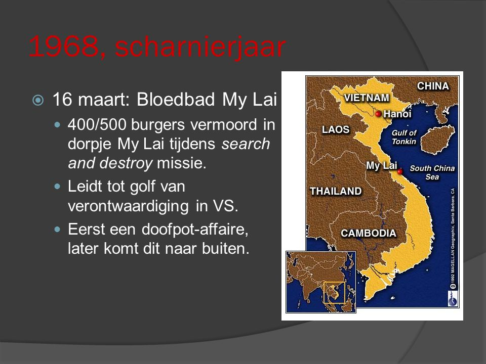 1968, scharnierjaar 16 maart: Bloedbad My Lai