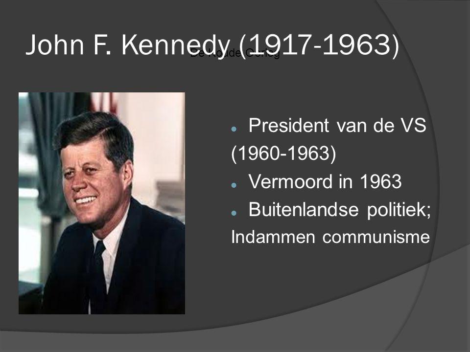 John F. Kennedy (1917-1963) President van de VS (1960-1963)