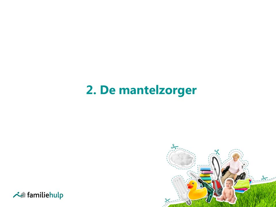 2. De mantelzorger