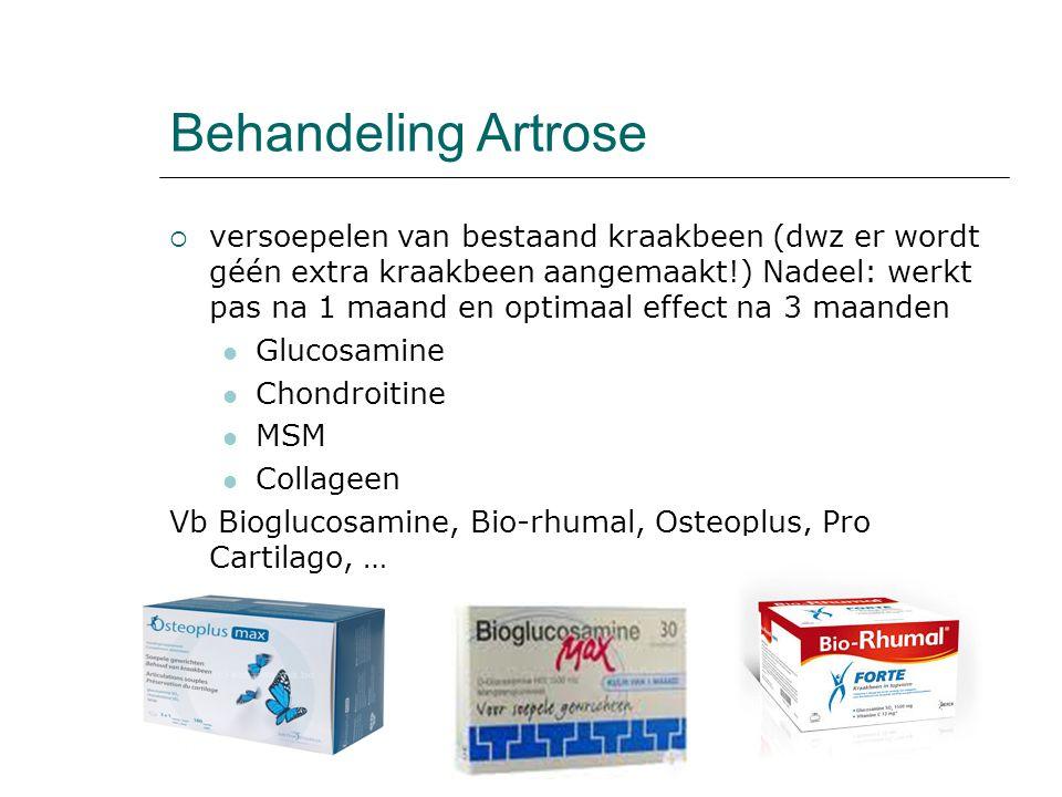 Behandeling Artrose