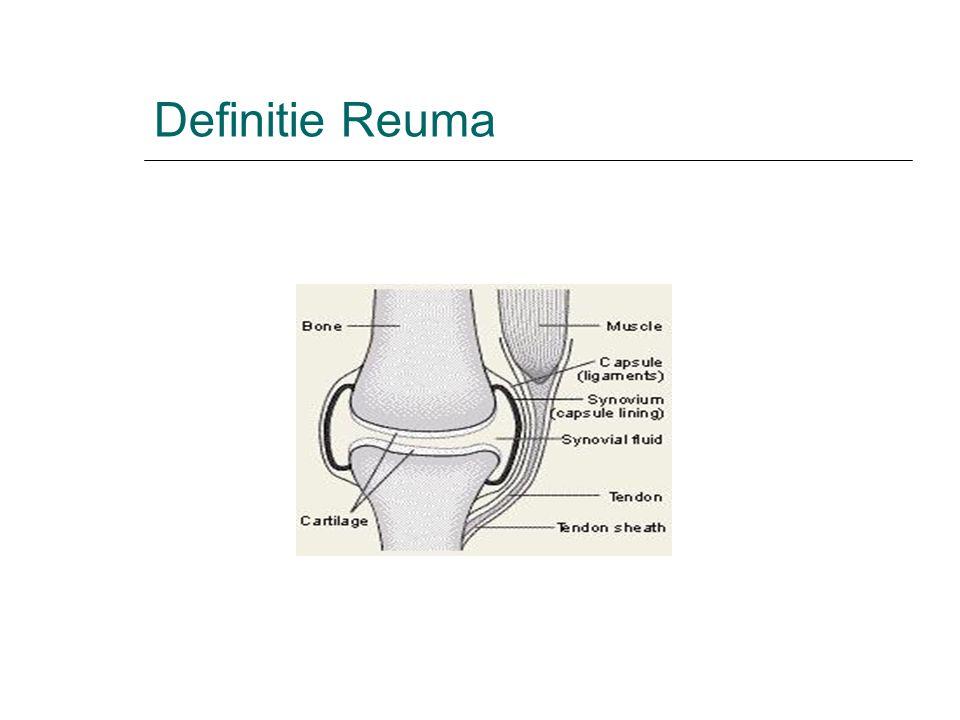 Definitie Reuma 4
