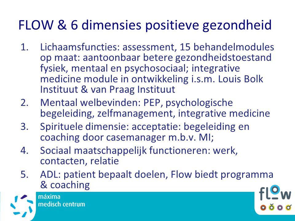 FLOW & 6 dimensies positieve gezondheid