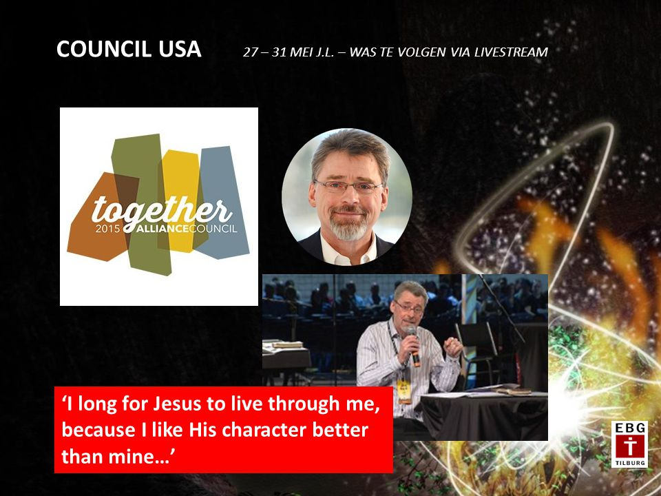 COUNCIL USA 27 – 31 MEI J.L. – WAS TE VOLGEN VIA LIVESTREAM