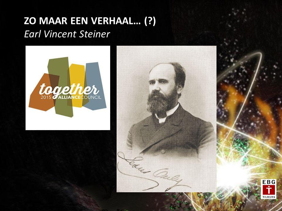 ZO MAAR EEN VERHAAL… ( ) Earl Vincent Steiner