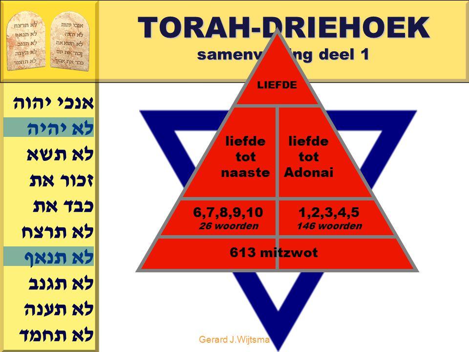 TORAH-DRIEHOEK samenvatting deel 1