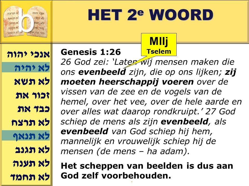 b HET 2e WOORD MlIj Genesis 1:26