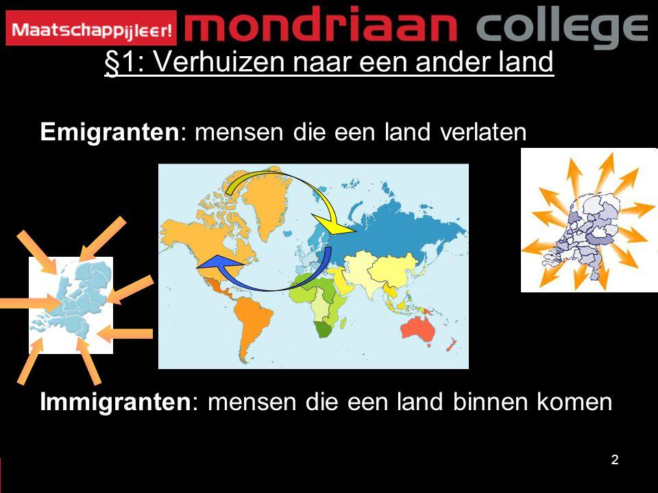 §1: Verhuizen naar een ander land