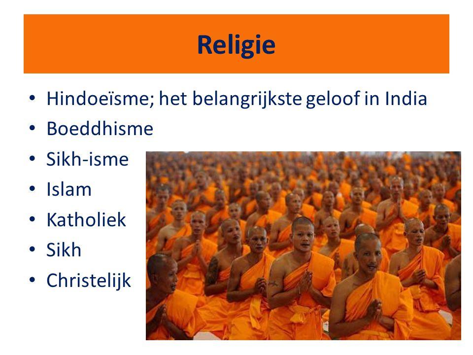 Religie Hindoeïsme; het belangrijkste geloof in India Boeddhisme
