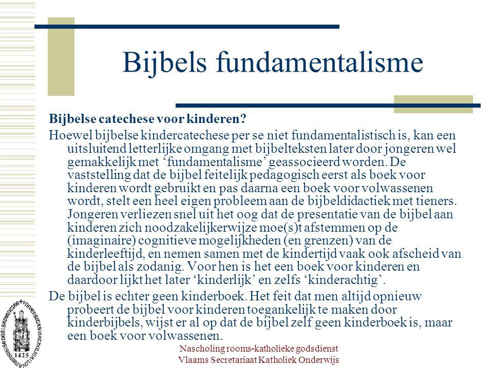 Bijbels fundamentalisme