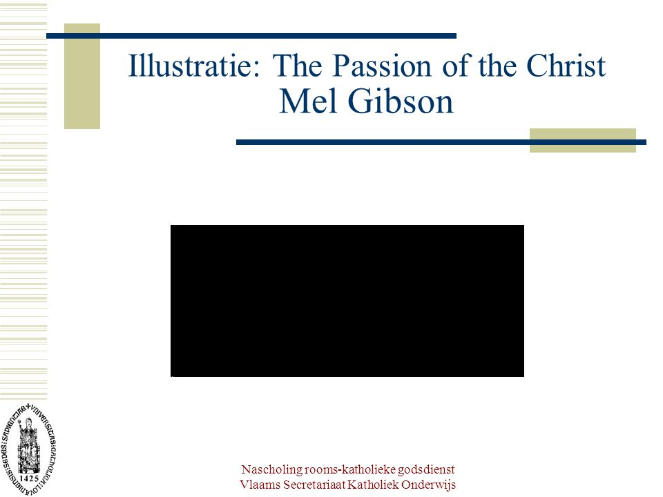 Illustratie: The Passion of the Christ Mel Gibson