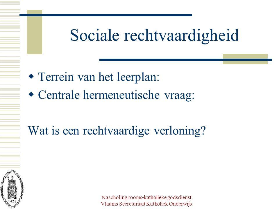 Sociale rechtvaardigheid