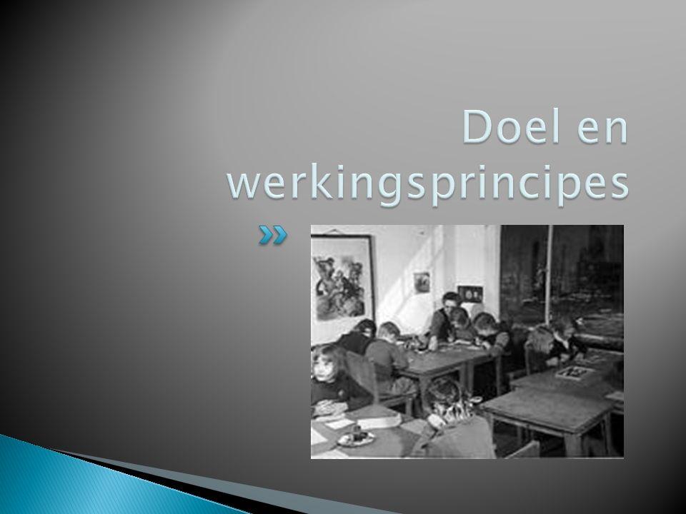 Doel en werkingsprincipes