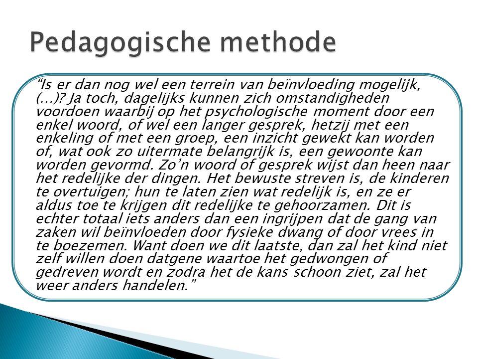 Pedagogische methode