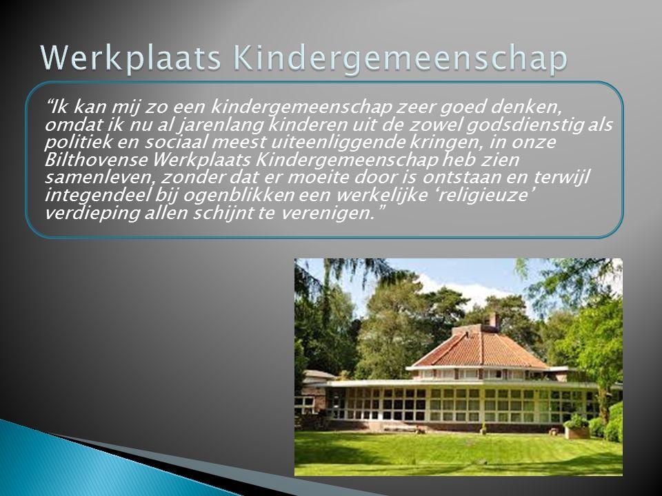 Werkplaats Kindergemeenschap