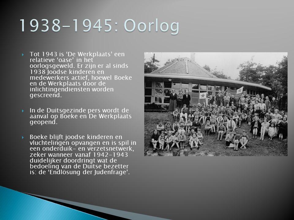 1938-1945: Oorlog