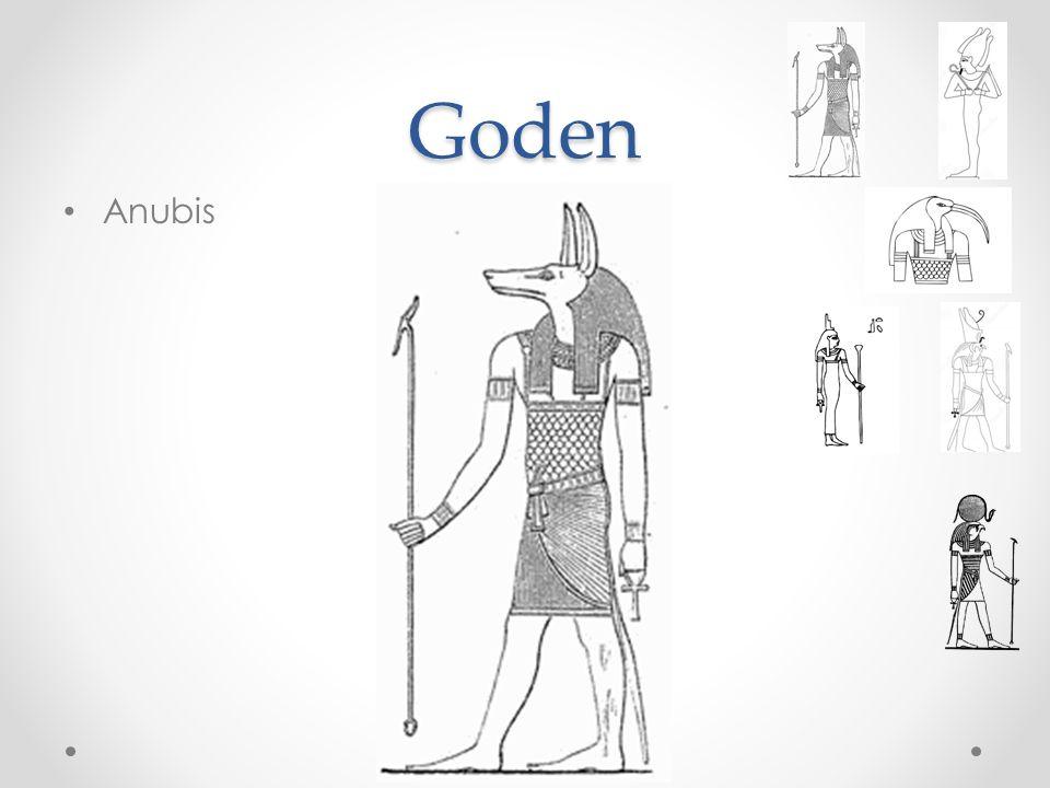 Goden Anubis