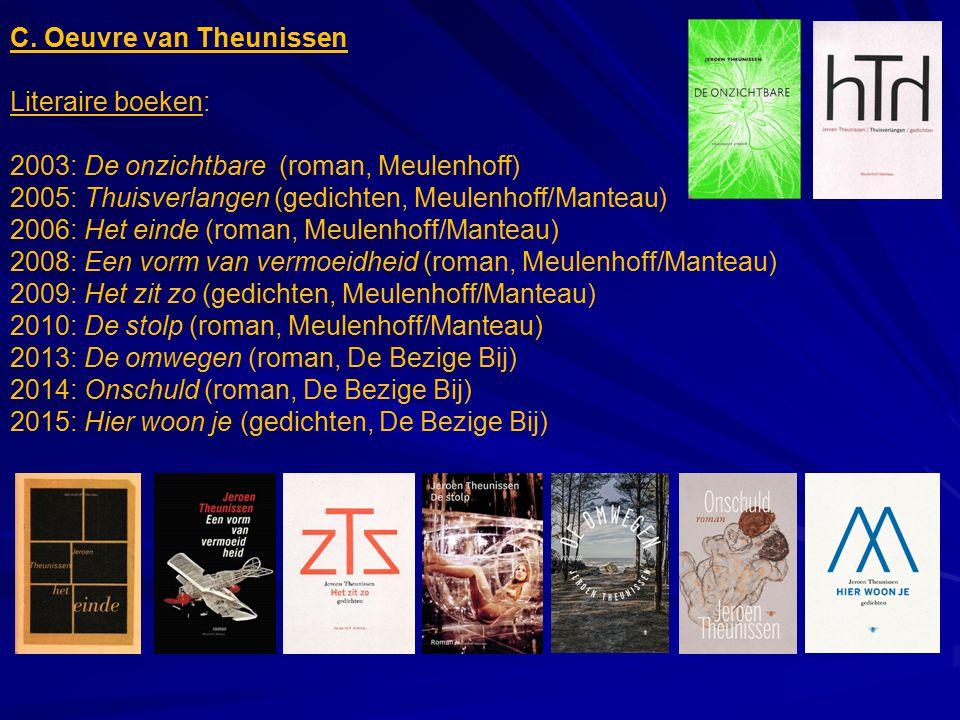 C. Oeuvre van Theunissen