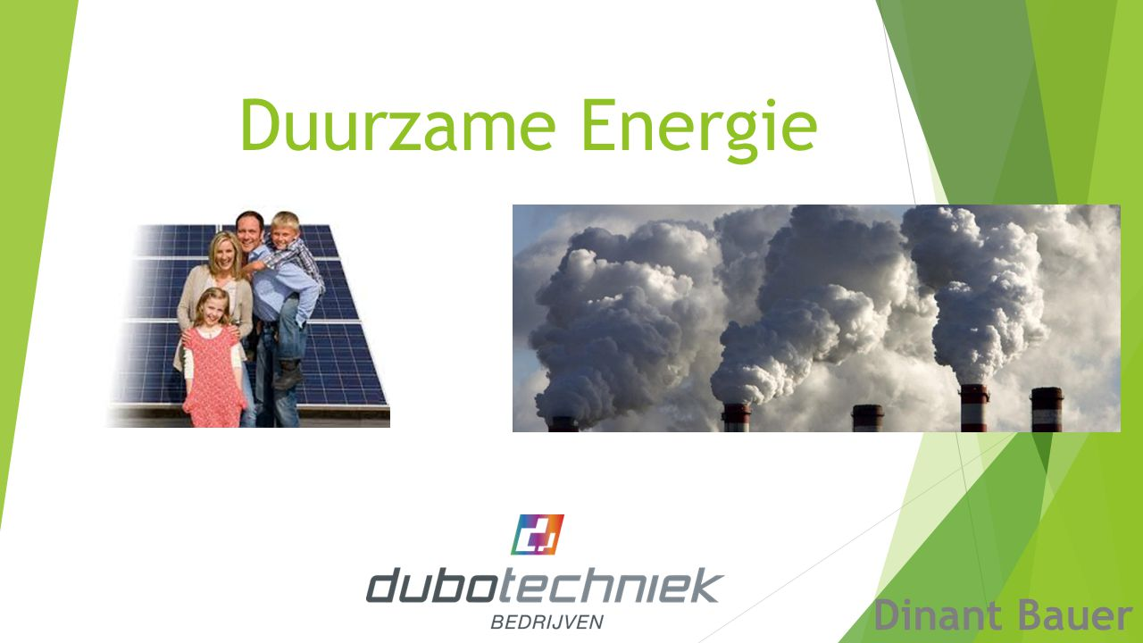 Duurzame Energie Dinant Bauer