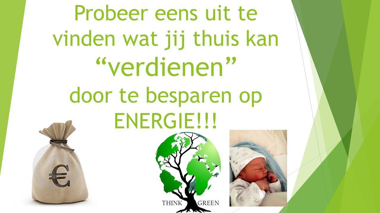 Probeer eens uit te vinden wat jij thuis kan verdienen door te besparen op ENERGIE!!!