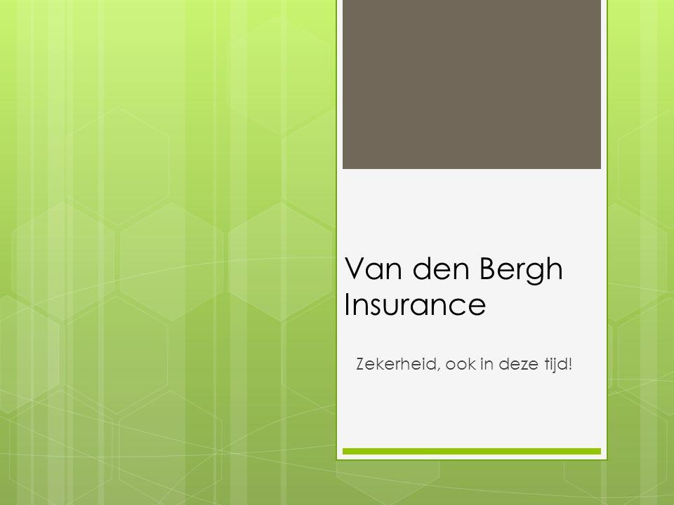 Van den Bergh Insurance
