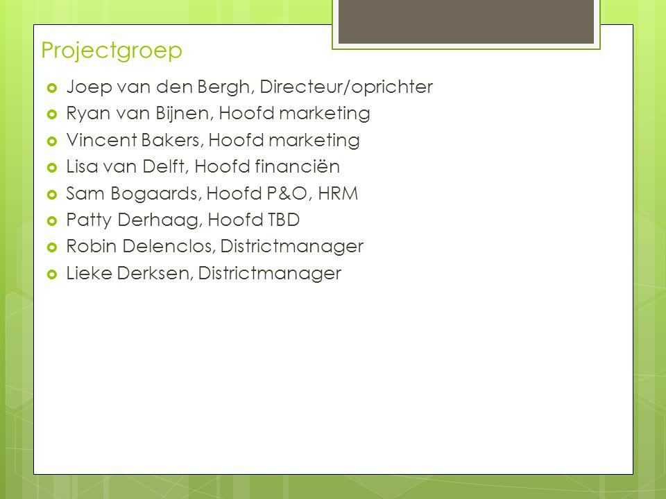 Projectgroep Joep van den Bergh, Directeur/oprichter